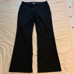 Gap Curves Stretch Black Dress Pants Size 12R